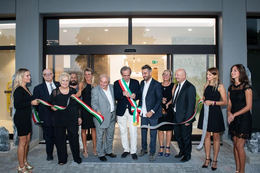 Inaugurazione showroom Francesconi78