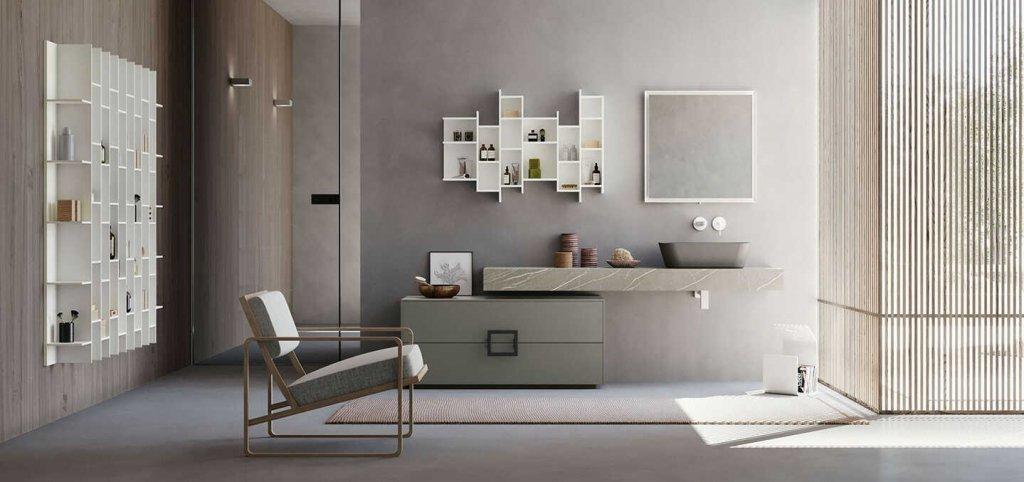 Mobile da bagno di design da Francesconi a Meldola