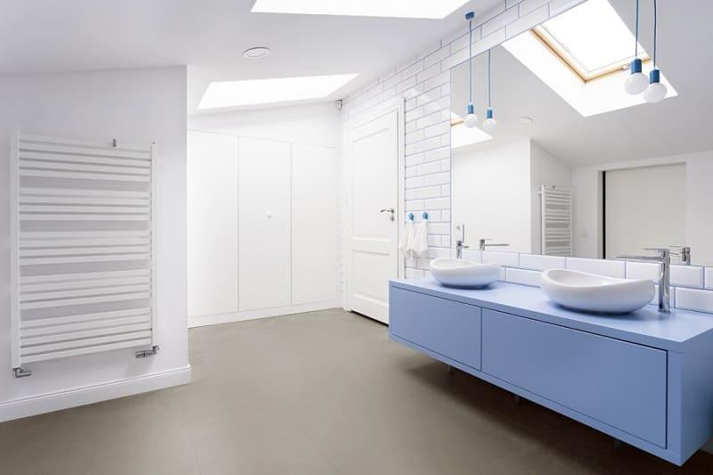 Pavimenti LVT vinilico per bagno